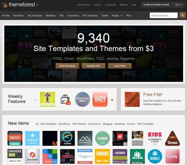 Where to Find CMS Themes & CMS Templates