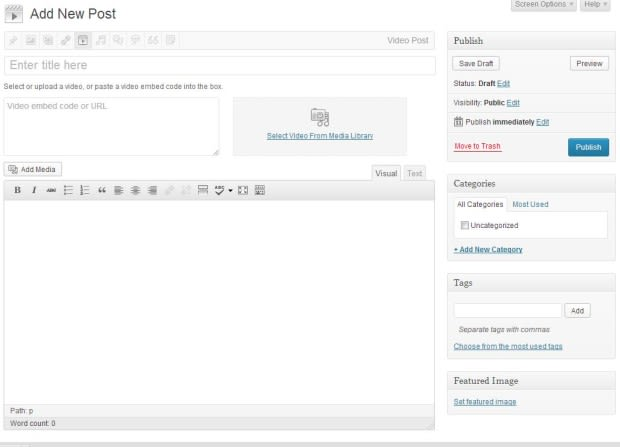 WordPress 3.6 Beta 1 is out! (With Screenshots)