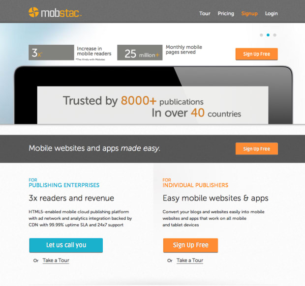 MobStac Review - Manage Mobile Websites and Apps Across All Mobile and Tablet Devices