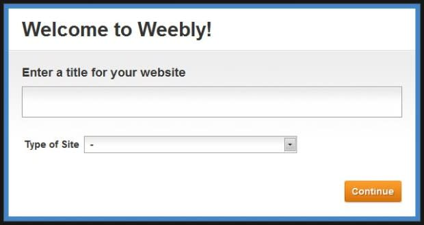 command is: weebly