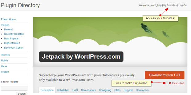 WordPress refreshes their Plugin pages