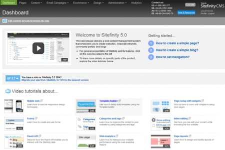 Sitefinity Review - A Look at Sitefinity 5