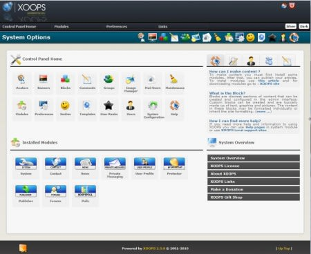 XOOPS Project releases XOOPS 2.5.4