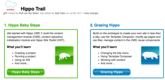 Hippo announces 7.6 and a new step by step training website