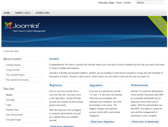 Joomla 1.6 Review