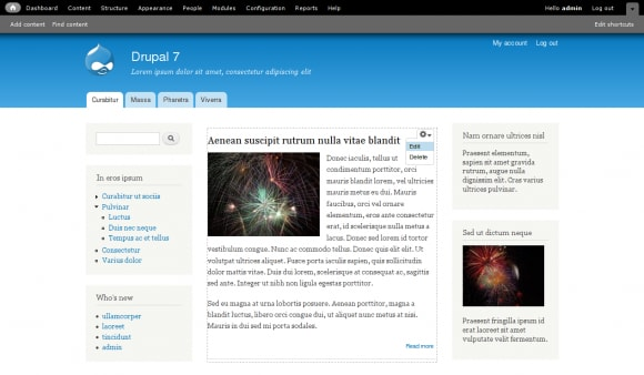Drupal 7 released and ready for public consumption