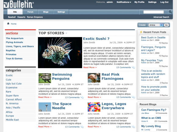 vBulletin Publishing Suite and vBulletin Forum 4.0.7 Now Available