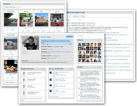 Elgg, the open source social networking CMS announced version 1.7.2