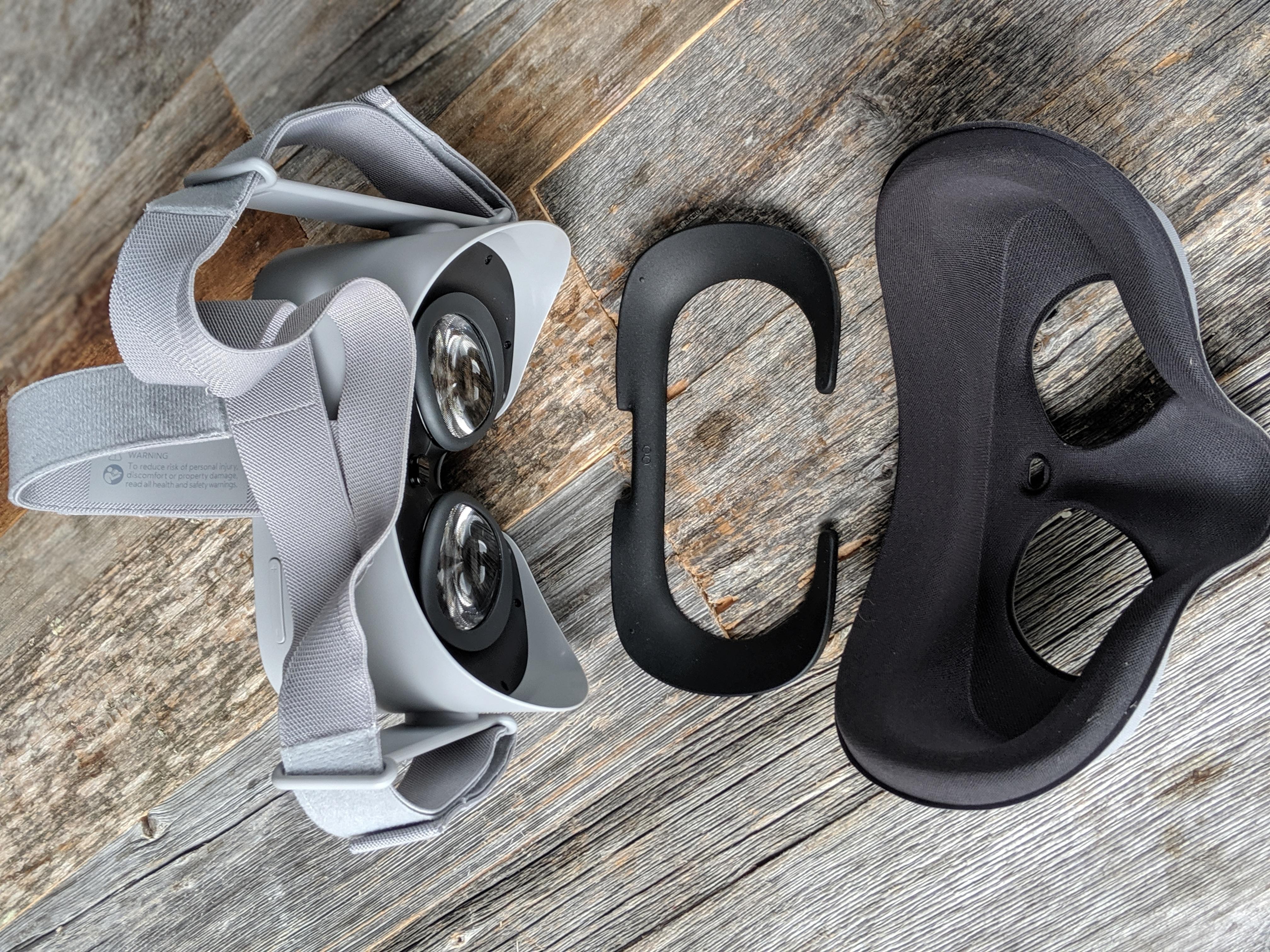 oculus Go - Headset components