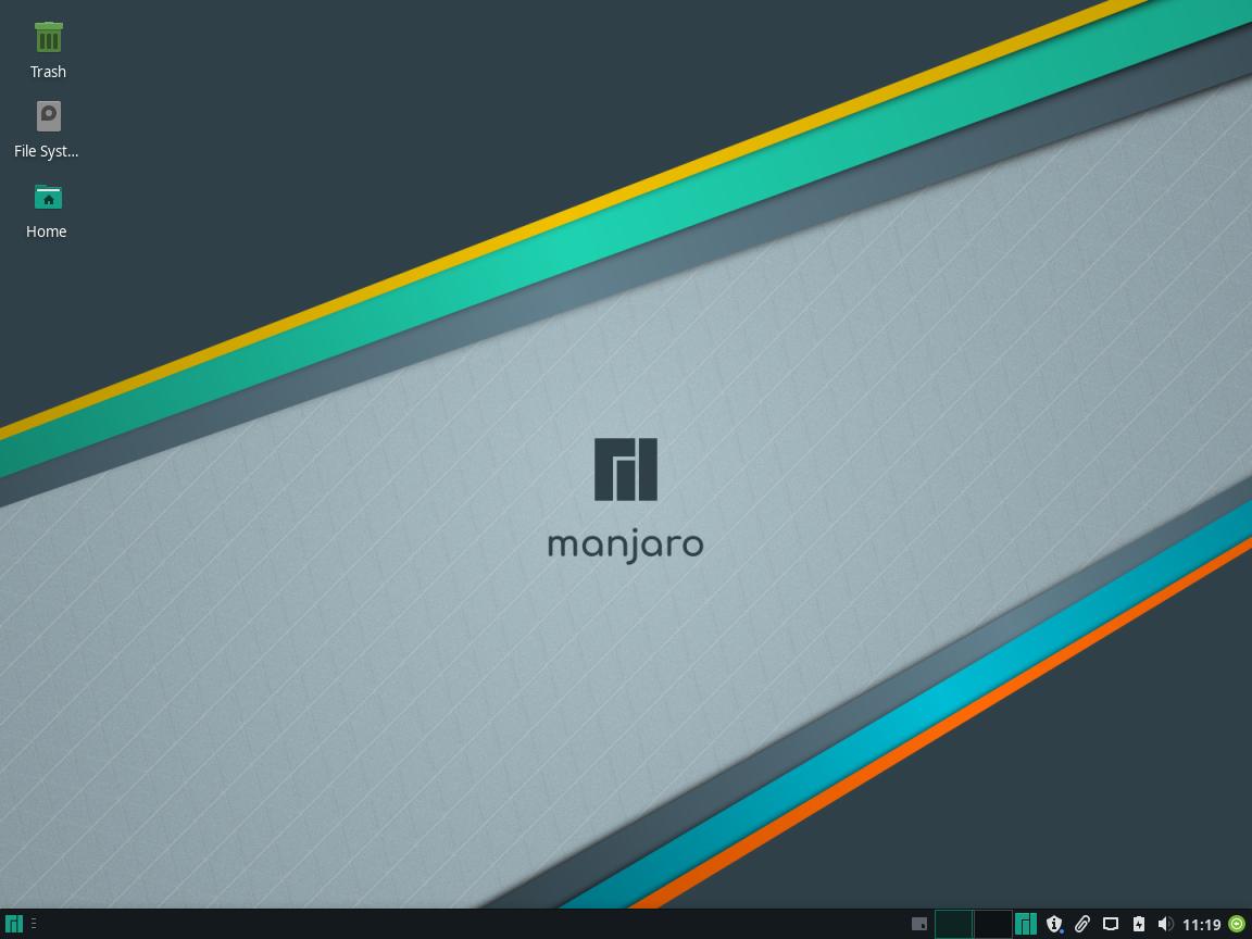Manjaro Review - The Desktop