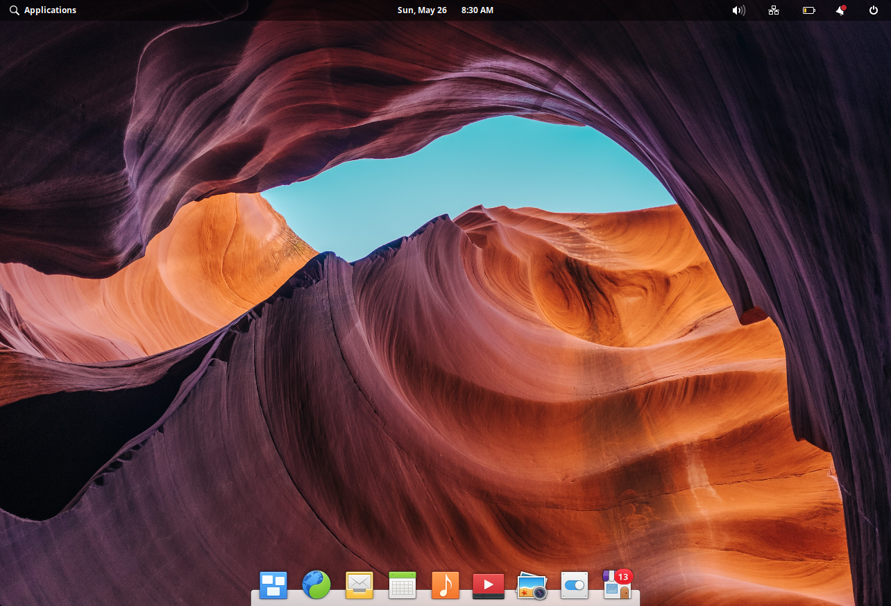 Elementary OS Review - The Desktop