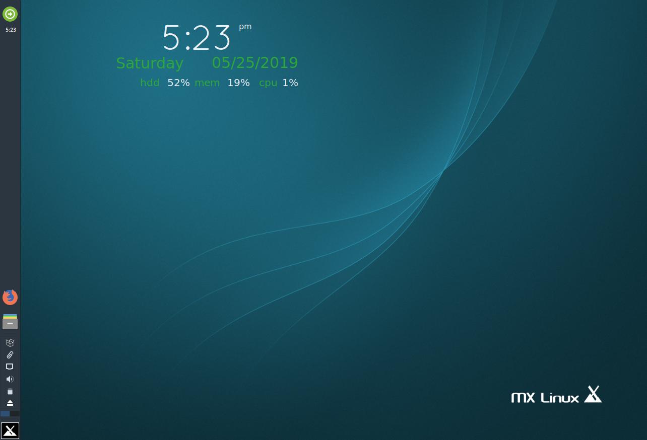 MX Linux - The Desktop