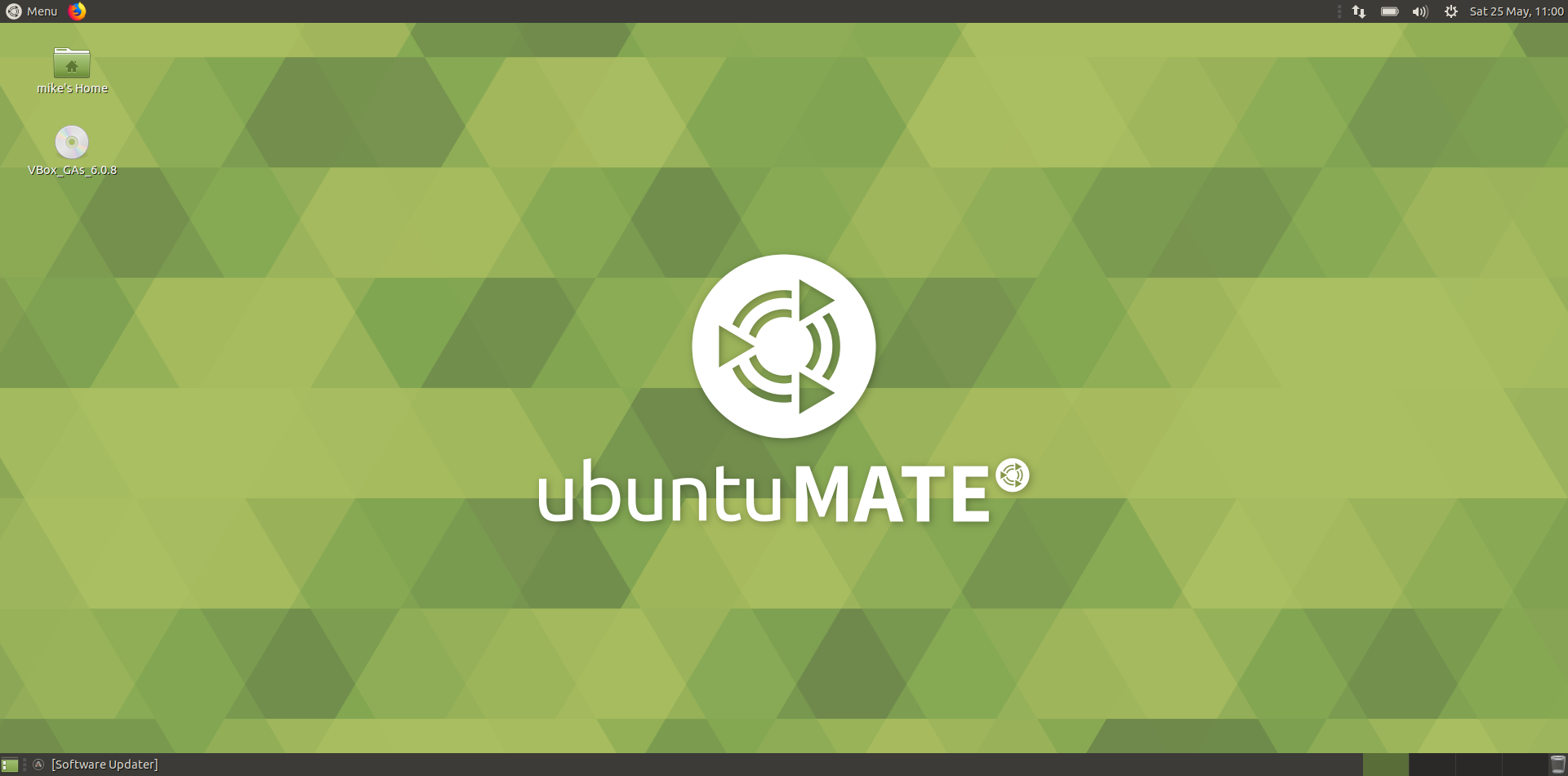ubuntu mate - The desktop