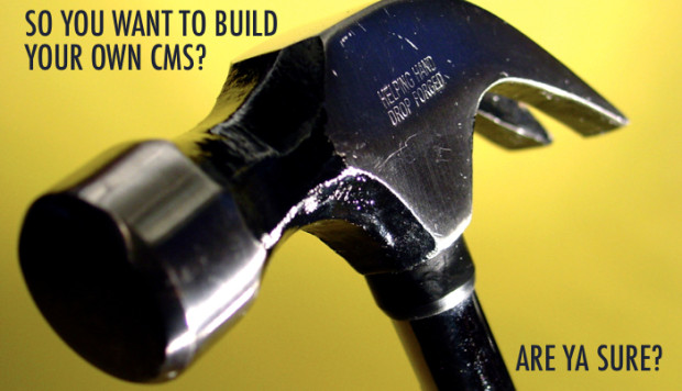 Should You Build Your Own CMS?