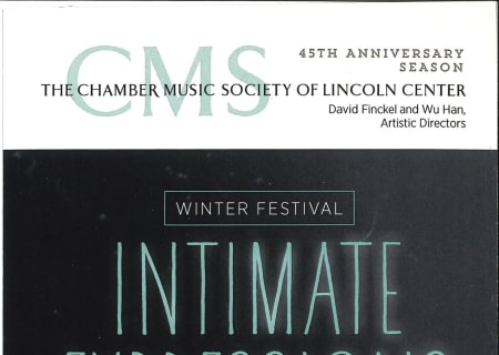 Winter Festival 2015: Intimate Expressions