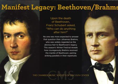 Manifest Legacy: Beethoven/Brahms