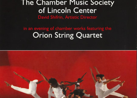 Bill T. Jones & Orion String Quartet