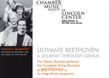 Ultimate Beethoven: The Takács Quartet performs the Complete String Quartets of Beethoven