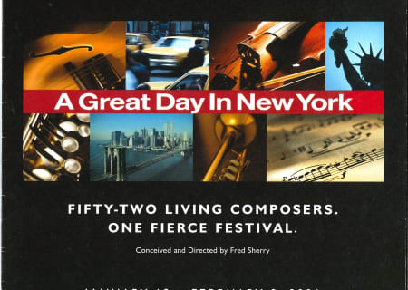 A Great Day in New York, 2001