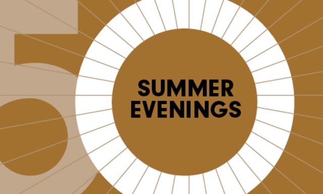 Summer Evenings Single Tickets On Sale Now