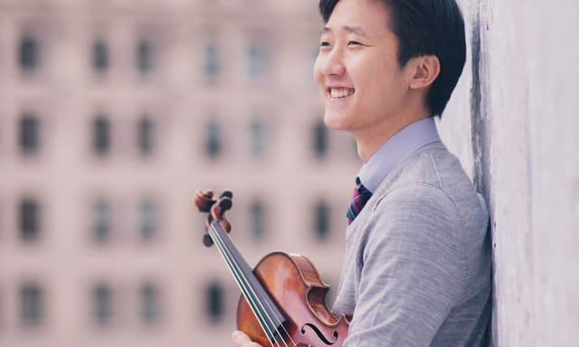 CMS Congratulates Violinist Sean Lee