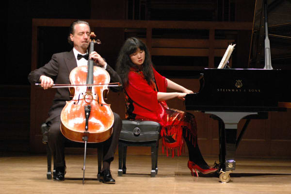 David Finckel and Wu Han, Artistic Directors 2004–present.
