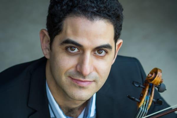 #7. Arnaud Sussmann, violin