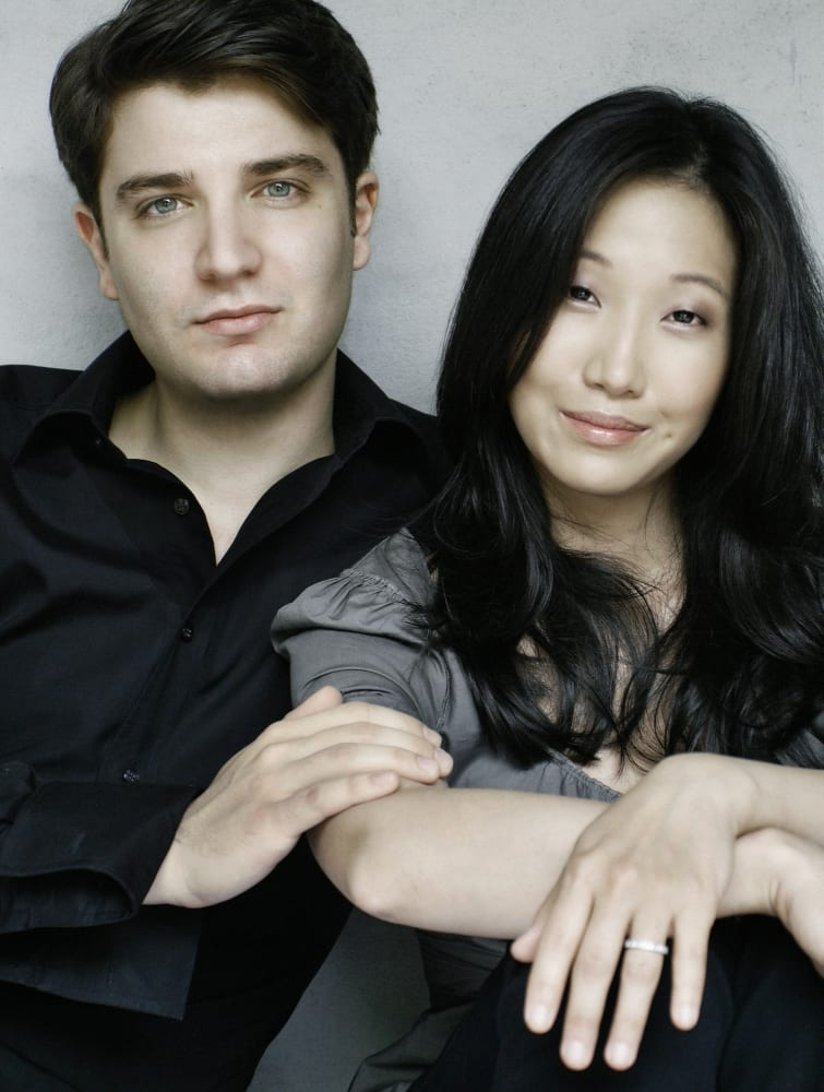 #2. Alessio Bax and Lucille Chung, piano