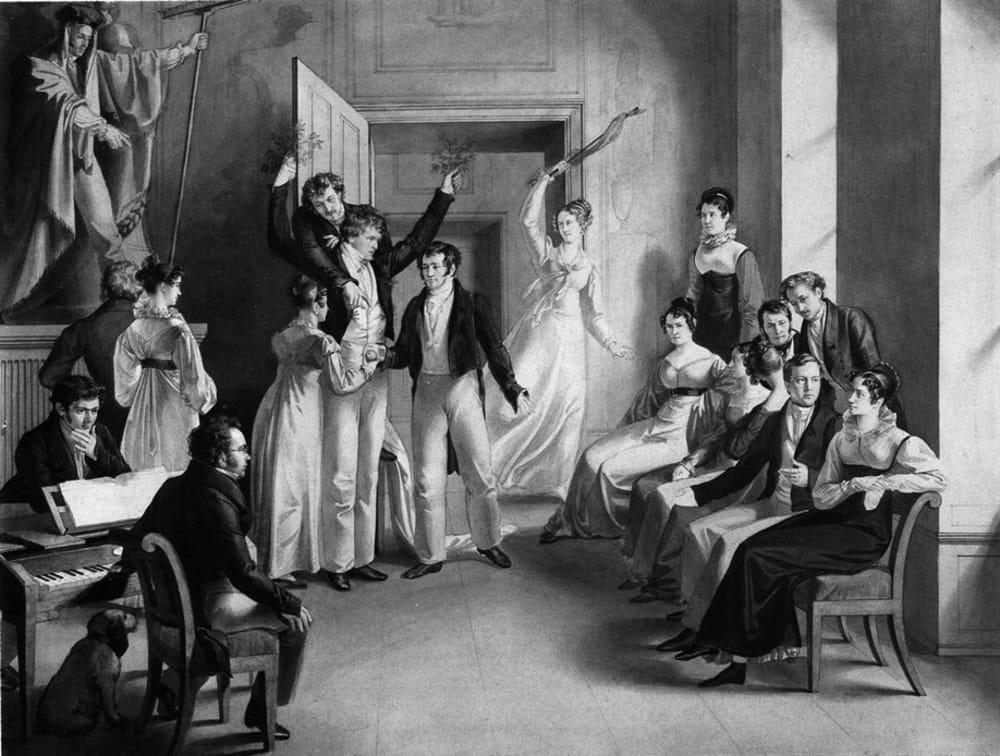 Schubert and his Social Circle