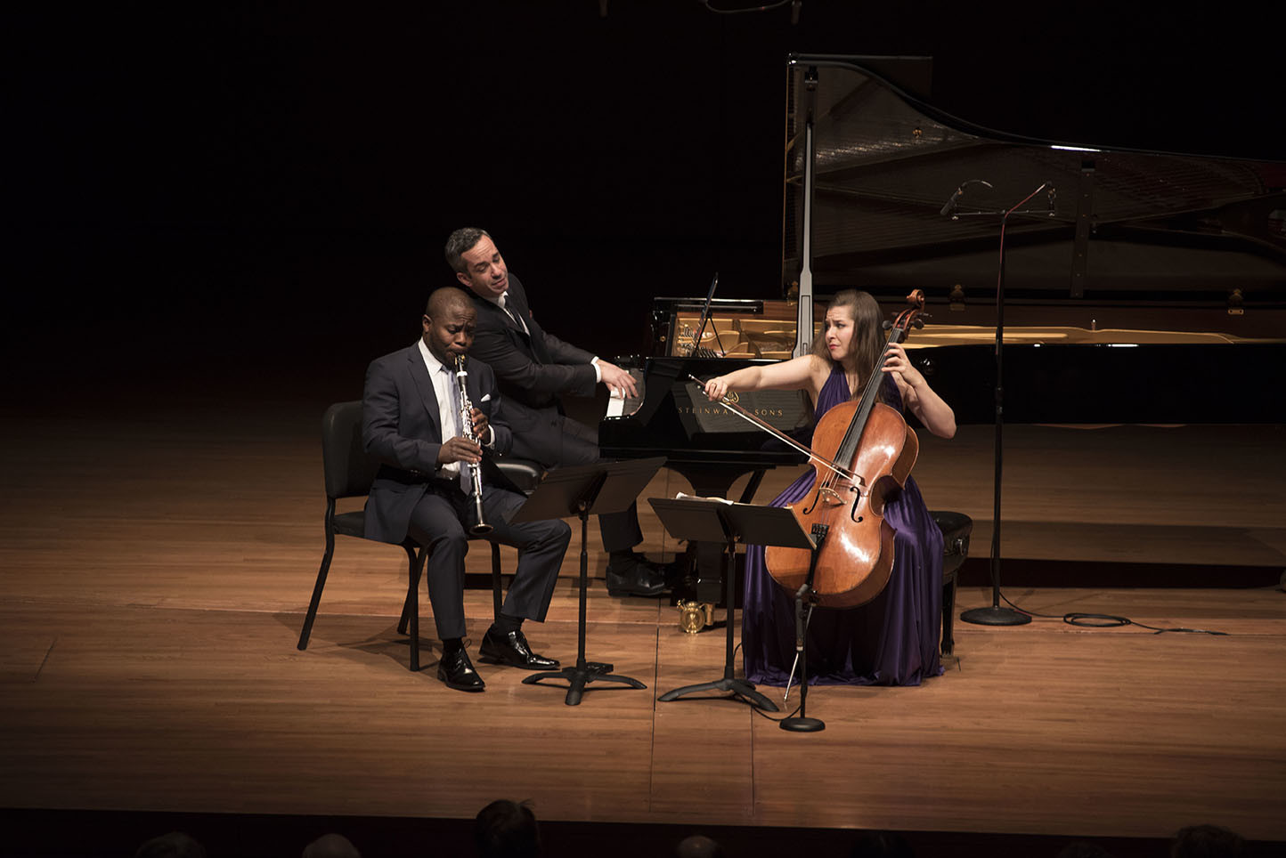 Anthony McGill, Inon Barnatan, Alisa Weilerstein