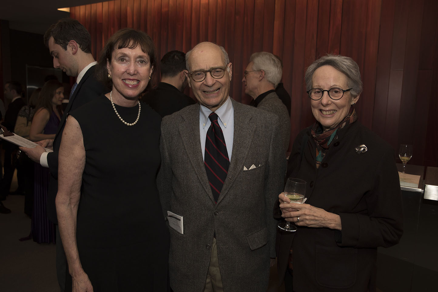 Executive Director Suzanne Davidson, James and Mary Ellen Rudolph