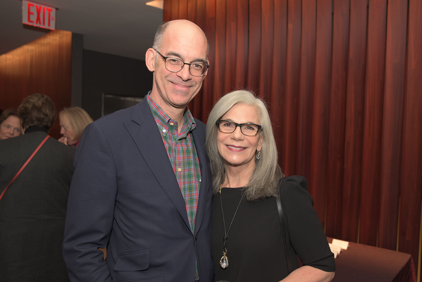 CMS Board Treasurer Robert Hoglund, Suzanne Hoglund