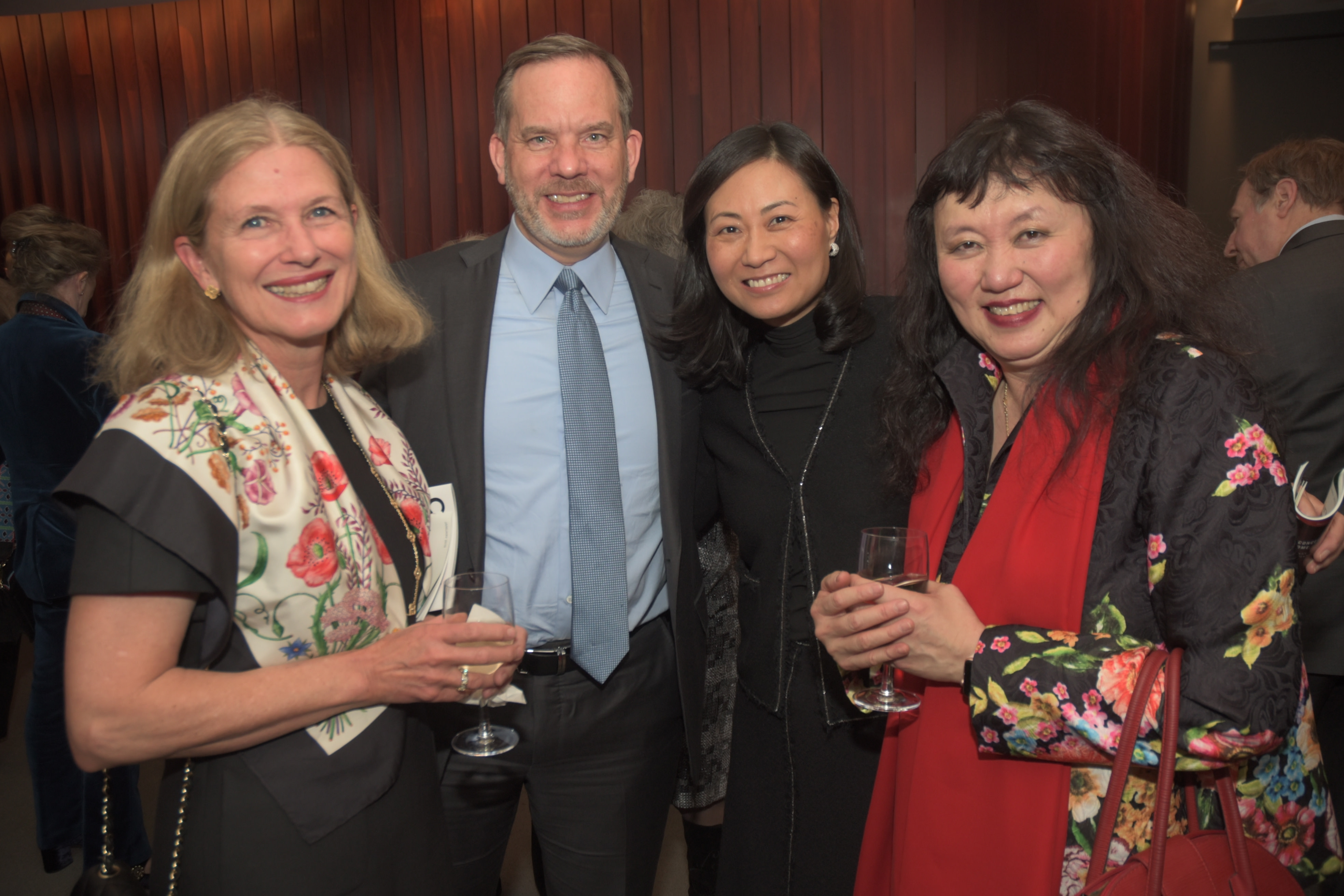 Marianne Fouhey, Andrew and Elinor Hoover, Artistic Director Wu Han