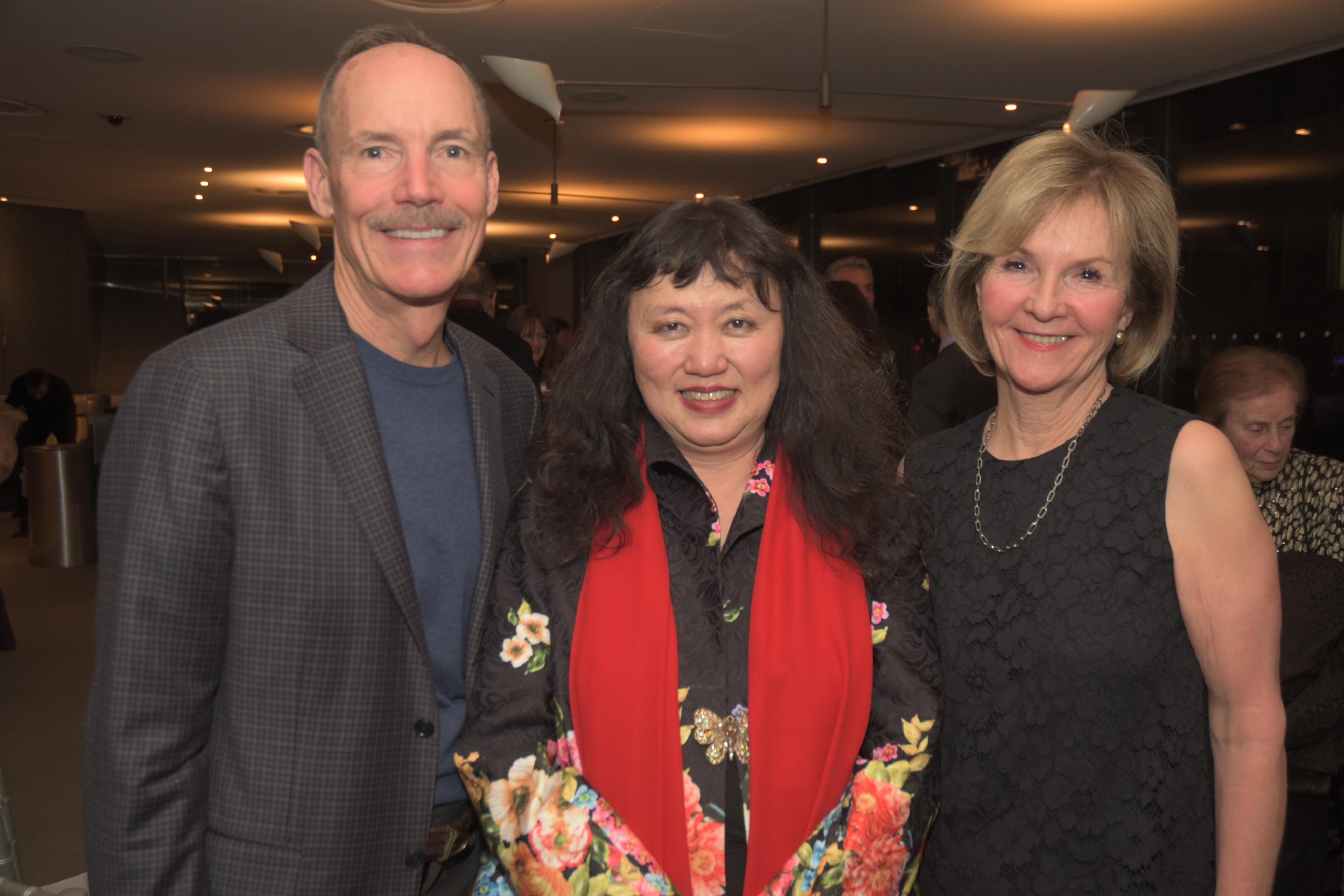 Brett Bachman, Wu Han, Elisbeth Challener