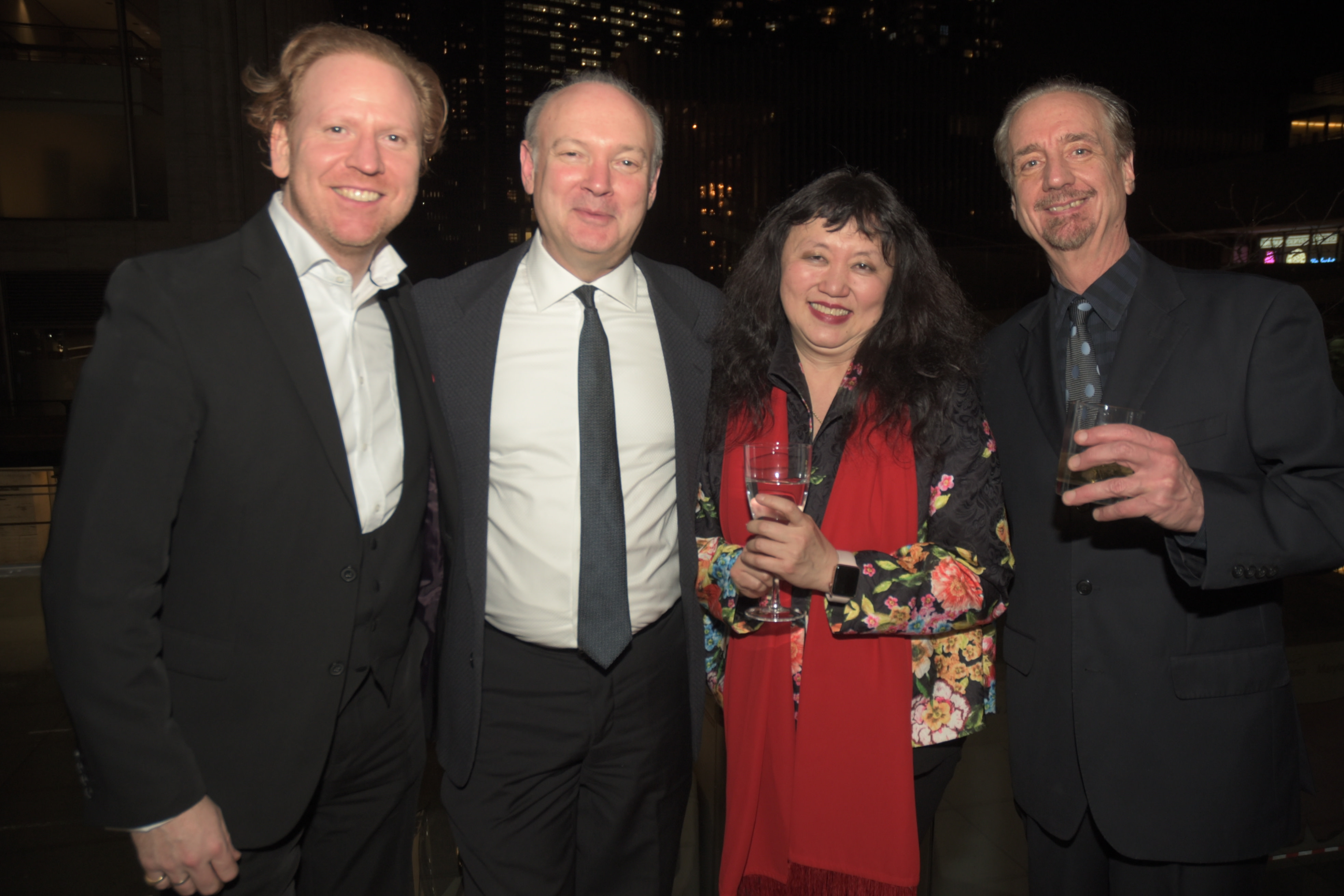 Daniel Hope, Paul Neubauer, Wu Han, Artistic Director David Finckel