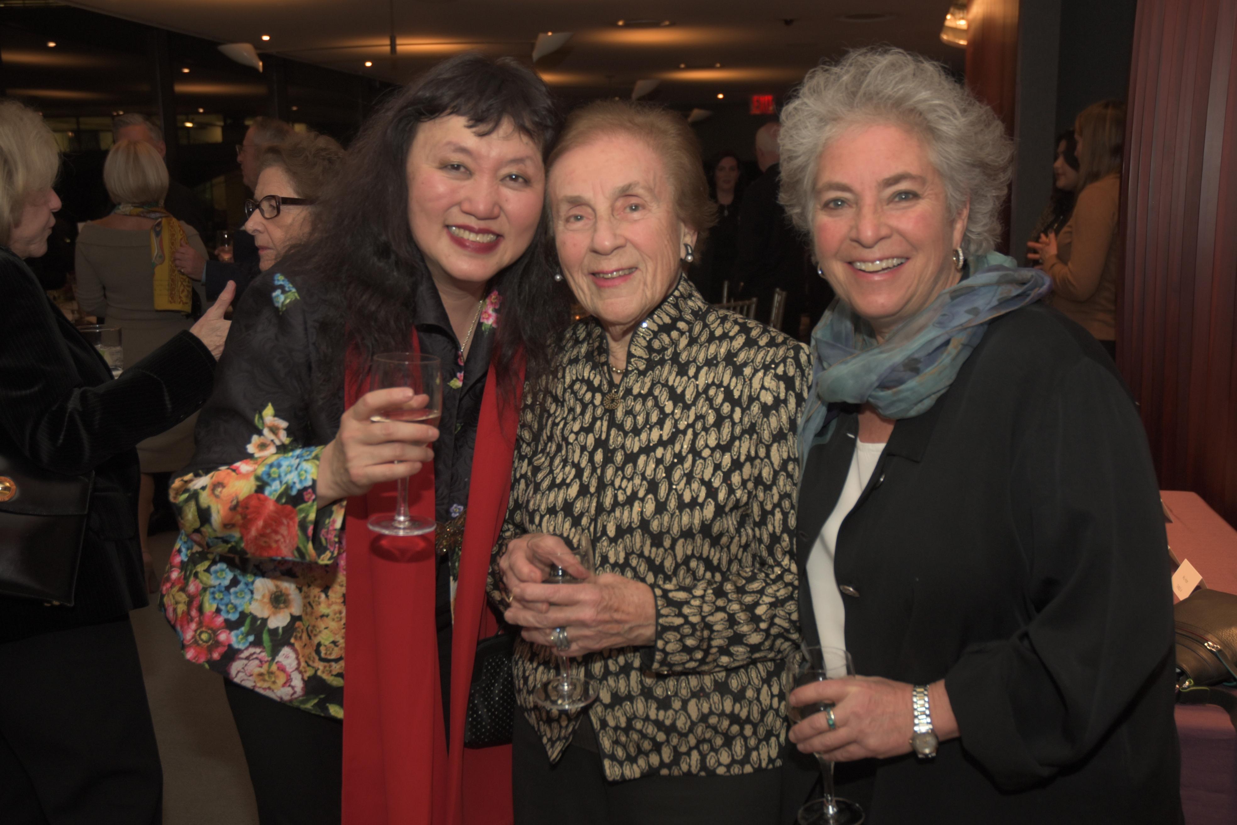Wu Han, Emily Grant, Andrea Grant