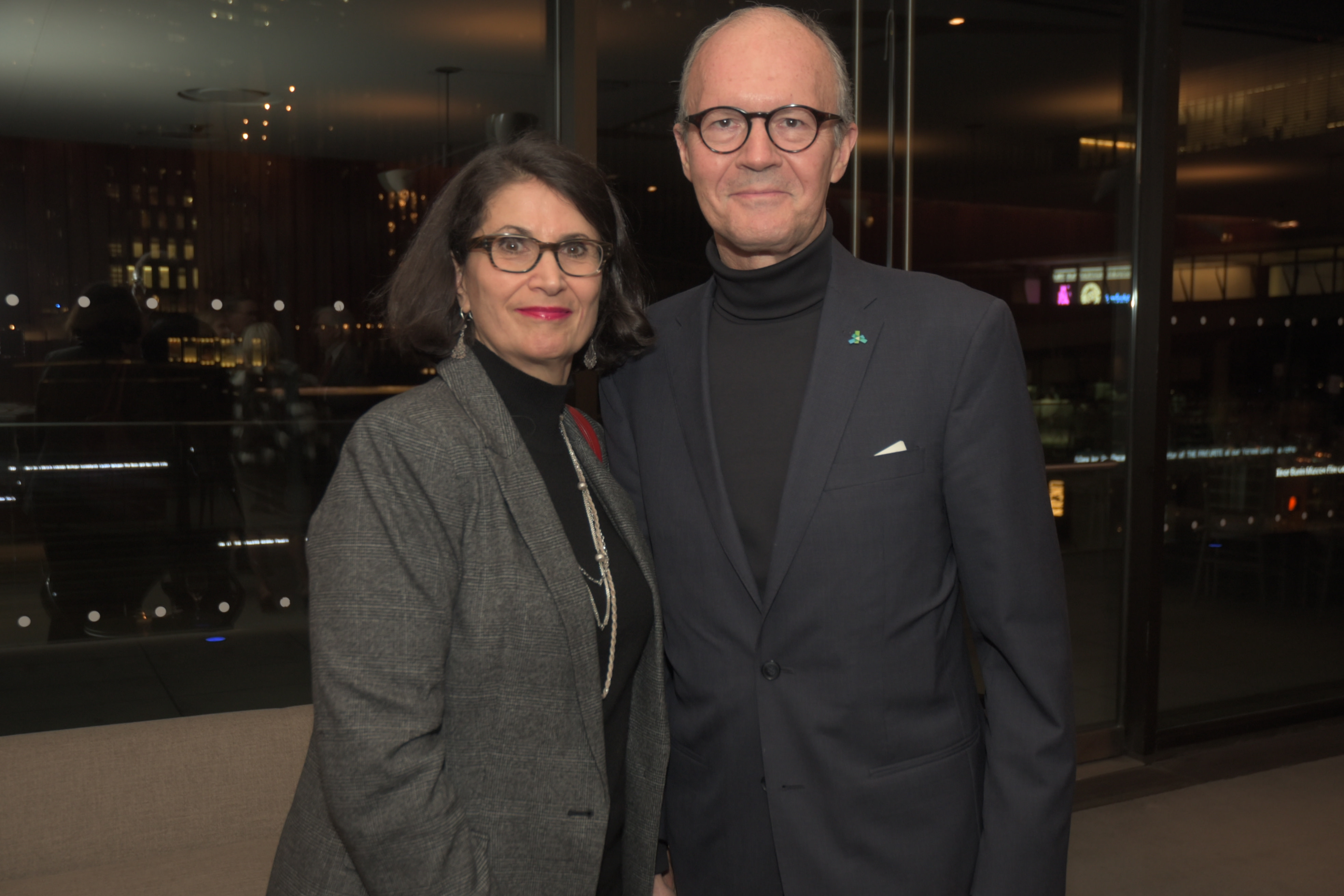 Donna and Vasili Tsamis