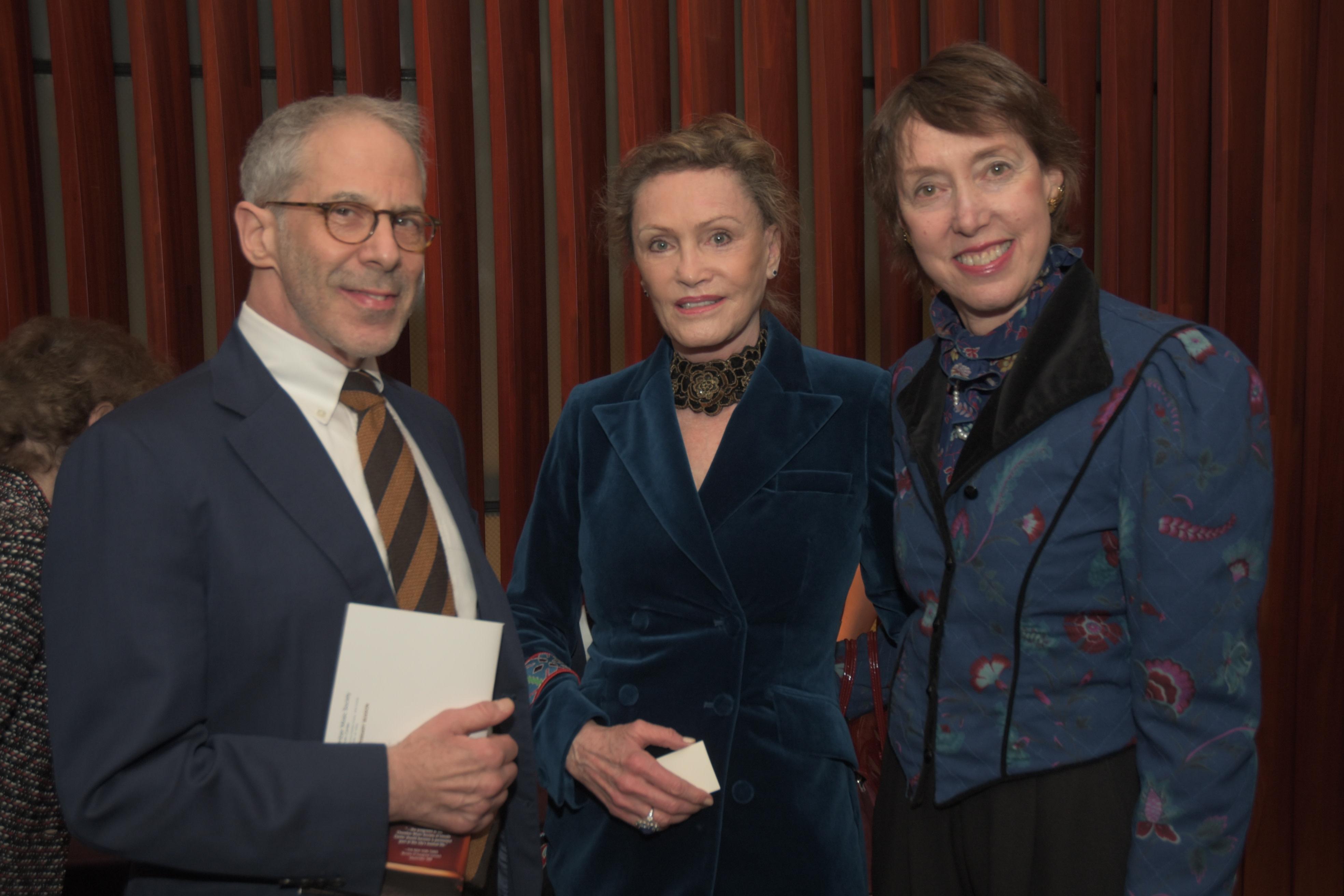 Charles Schreger, Judi Flom, Executive Director Suzanne Davidson