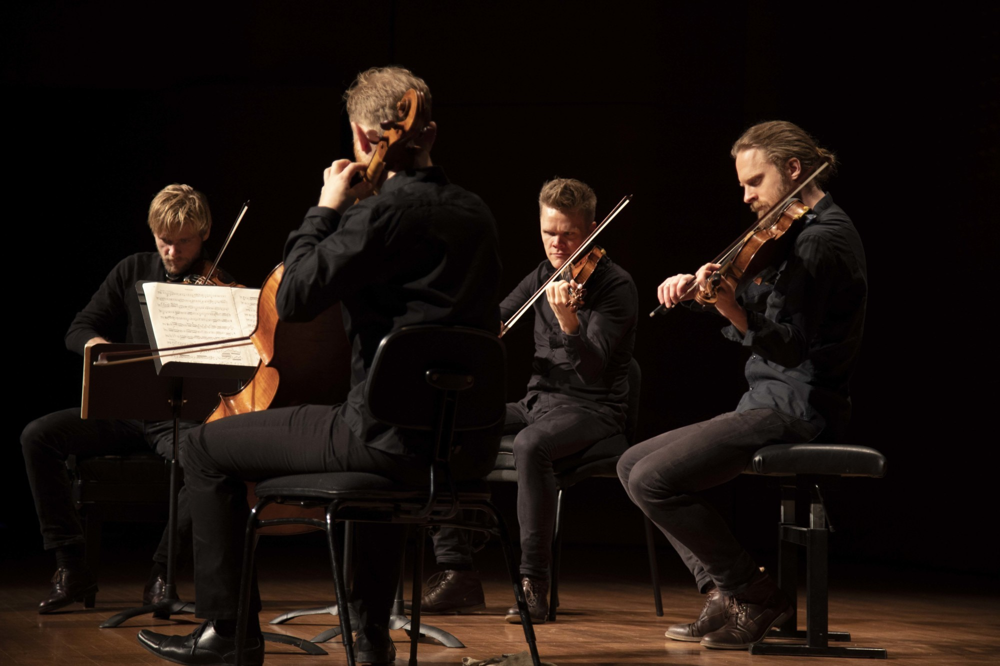 Danish String Quartet by Tristan Cook