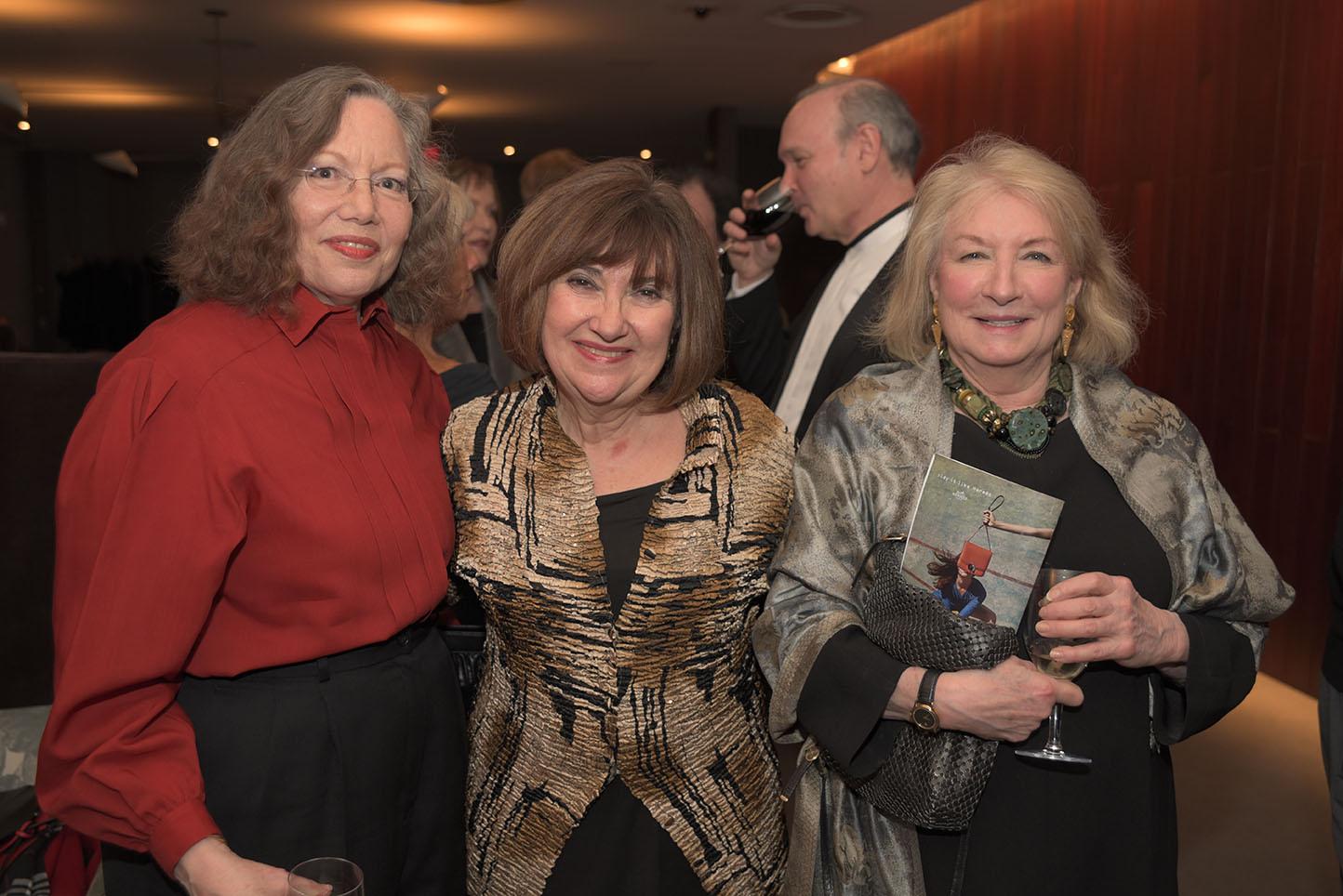 Nell Dillon-Ermers, Ani Kavafian, Helen Brown Levine