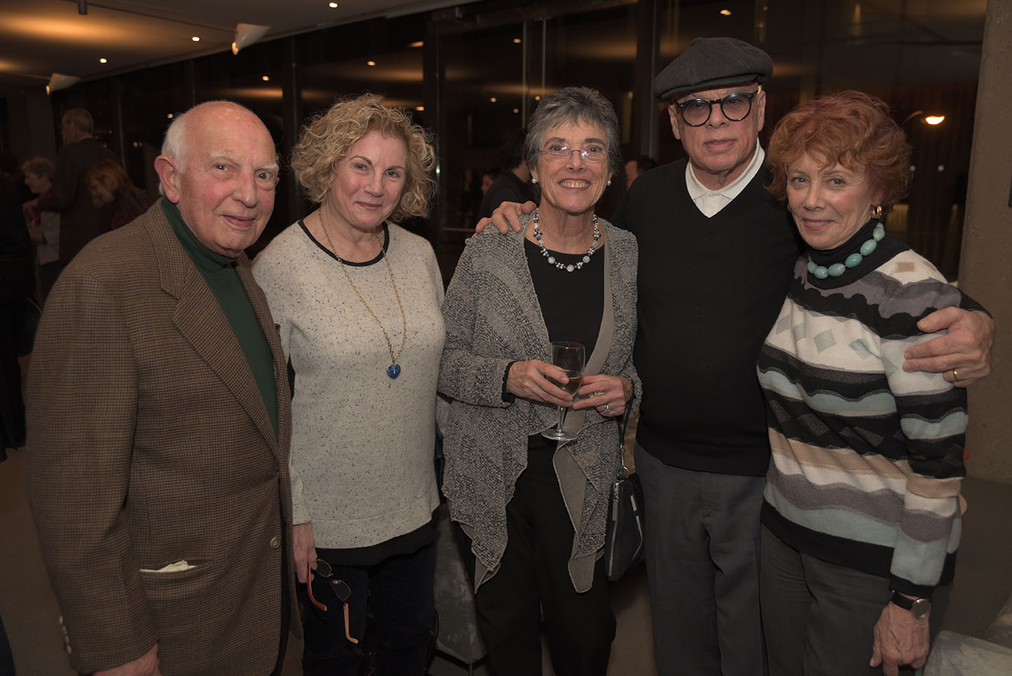 Salvatore and Diane Vacca, Linda Keen, Hal Goldstein and Judith Warren