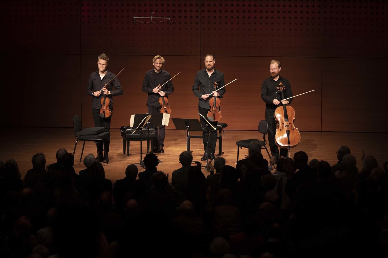 The Danish String Quartet by Tristan Cook