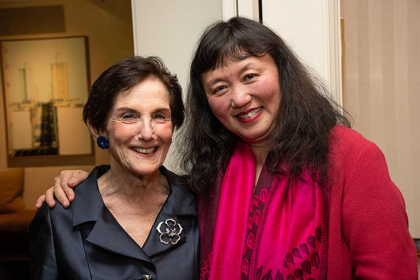 Rita Hauser, Wu Han
