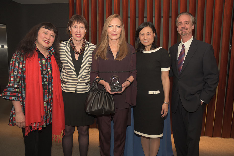 Artistic Director Wu Han, Executive Director Suzanne Davidson, Susan Carmel, Board Chair Elinor Hoover, Artistic Director David Finckel