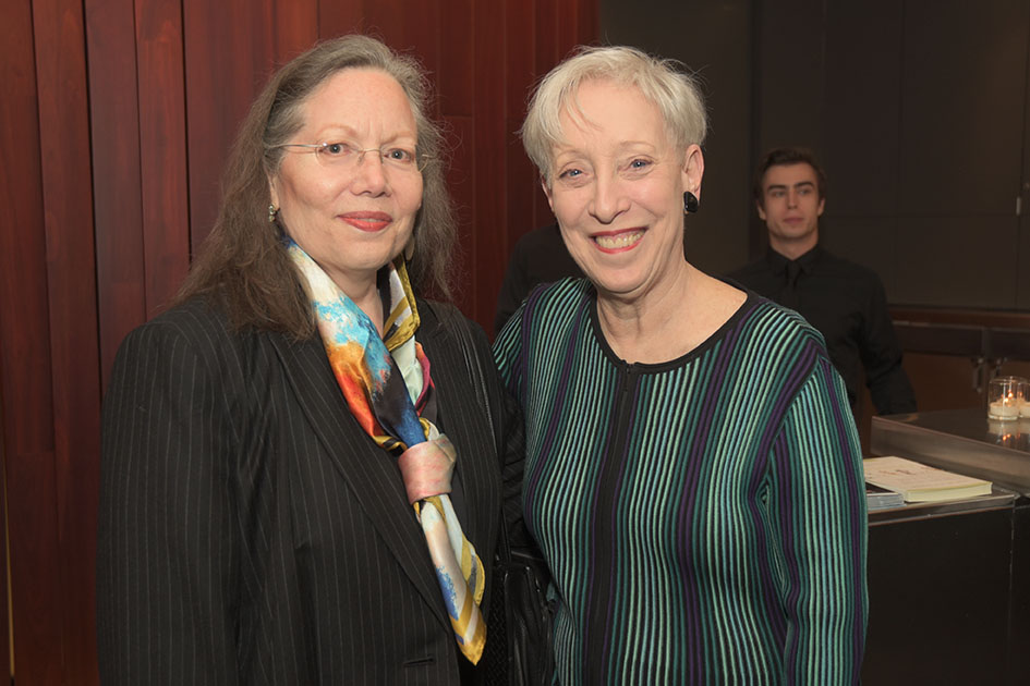 Nell Dillon-Ermers, Global Council member Carole Donlin