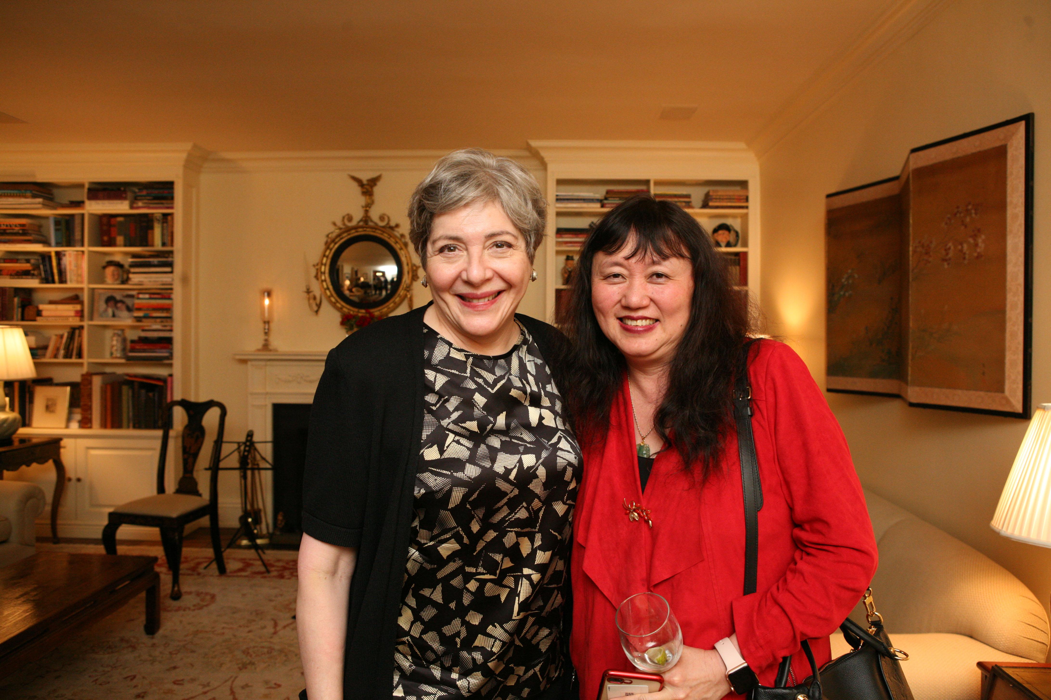 Florence Davis, Artistic Director Wu Han