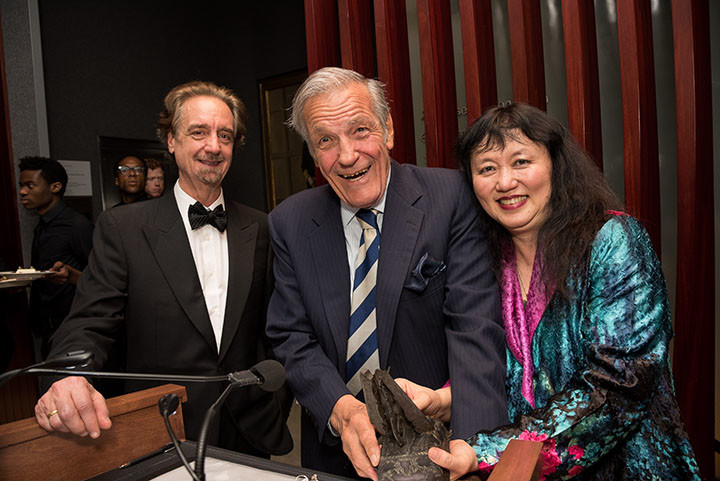 Artistic Director David Finckel, Board member and Honoree Peter Duchin, Artistic Director Wu Han