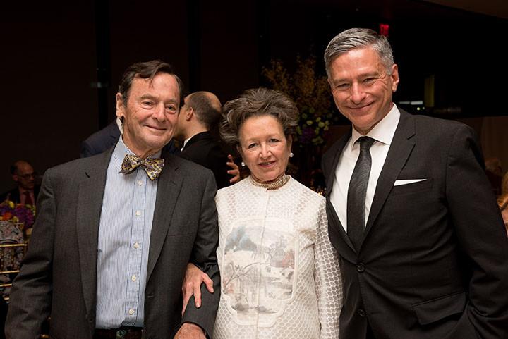 Board member Jarvis Wilcox, Coke Anne Wilcox, Vin Cipolla