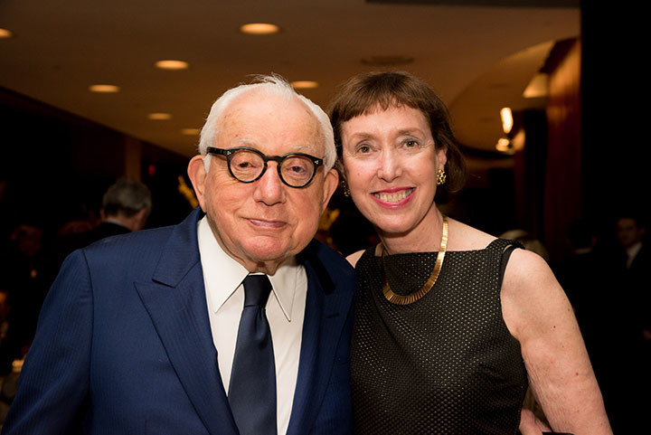 Board member Joseph Cohen, Executive Director Suzanne Davidson