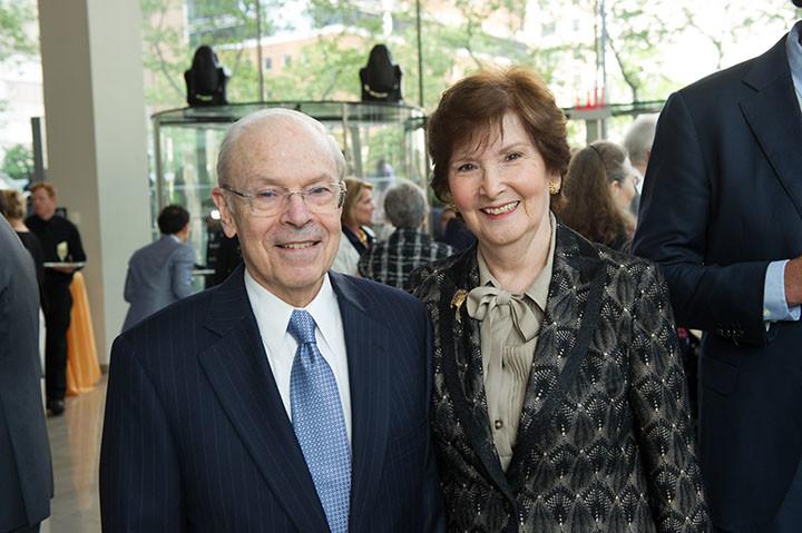 Board member Alan Weiler, Elaine Weiler